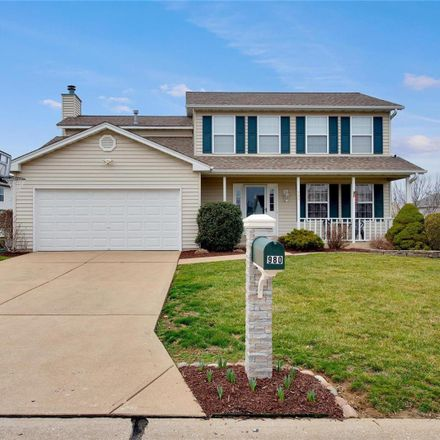 Rent this 4 bed house on 980 Lands End Circle in Harvester, MO 63304