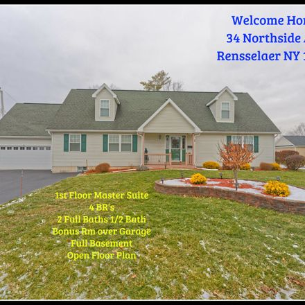 Rent this 4 bed house on 34 Northside Avenue in Rensselaer, NY 12144