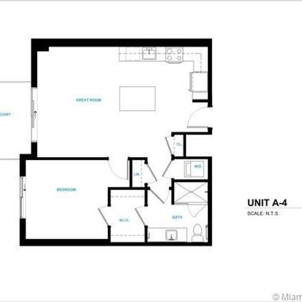 Rent this 1 bed apartment on 1001 Northwest 7th Street in Miami, FL 33136
