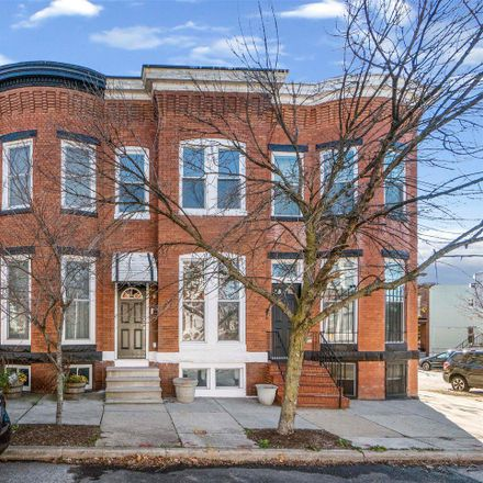 Rent this 3 bed townhouse on 417 West 28th Street in Baltimore, MD 21211