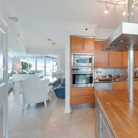 Rent this 2 bed condo on Murano in 1000 South Pointe Drive, Miami Beach