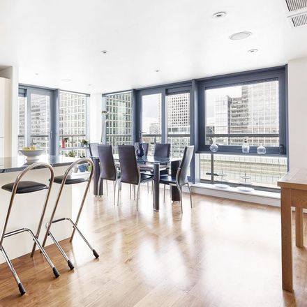 Rent this 3 bed apartment on Discovery Dock Apartments East in 3 South Quay Square, London E14 9RZ