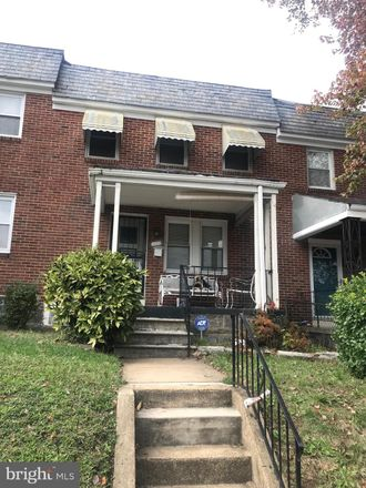 Rent this 3 bed townhouse on 832 Mount Holly Street in Baltimore, MD 21229