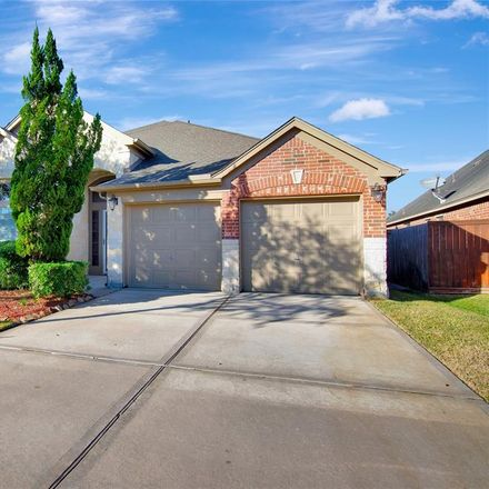 Rent this 4 bed house on 13615 Evening Wind Drive in Pearland, TX 77584
