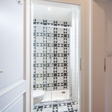 Rent this 1 bed apartment on Lyčkovo nám. 472/8 in 186 00 Karlín, Chequia