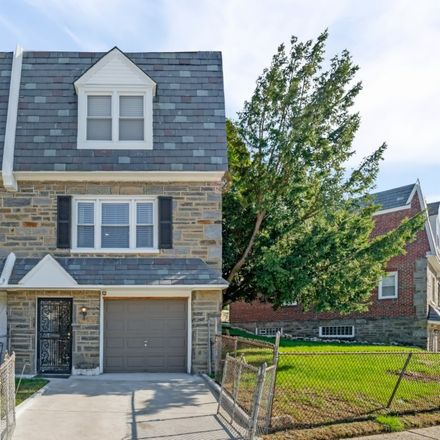 Rent this 3 bed townhouse on 1534 East Tulpehocken Street in Philadelphia, PA 19138