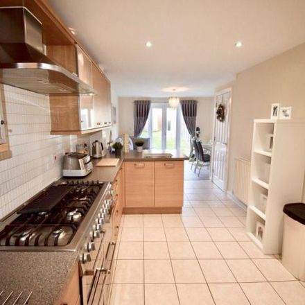 Rent this 4 bed house on Atkinson Road in Hawkinge CT18 7SB, United Kingdom