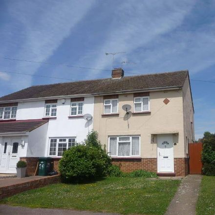 Rent this 2 bed house on St. Catherine's Avenue in Far Bletchley MK3 5EG, United Kingdom