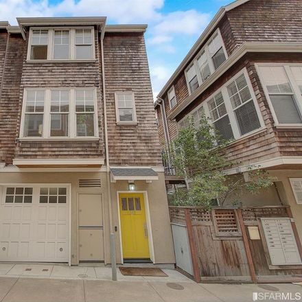 Rent this 3 bed townhouse on 1318 Eddy Street in San Francisco, CA 94115