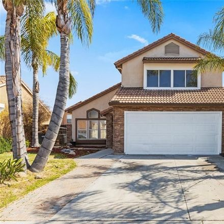 Rent this 3 bed house on Morning Sky Drive in Perris, CA 92571