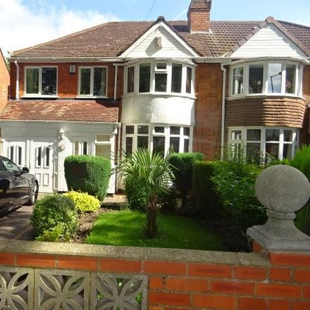 Rent this 3 bed house on Walstead Road in Walsall WS5 4LZ, United Kingdom