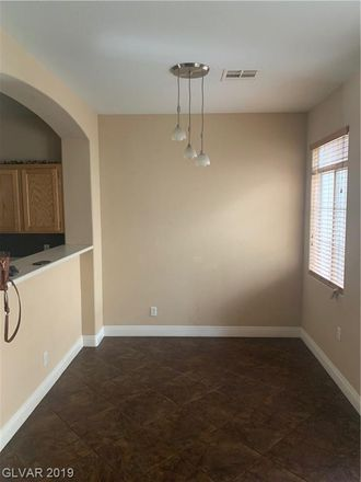 Rent this 3 bed townhouse on 1212 Nevada Sky Street in Las Vegas, NV 89128
