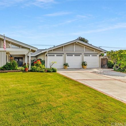 Rent this 4 bed house on 13682 Las Ninas Drive in North Tustin, CA 92705