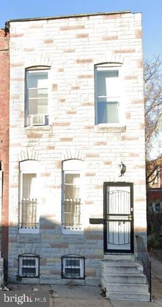 Rent this 3 bed townhouse on 2018 North Monroe Street in Baltimore, MD 21217