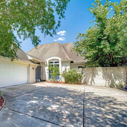 Rent this 4 bed house on 1450 Trace Drive in Houston, TX 77077