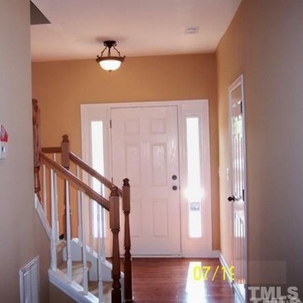 Rent this 4 bed townhouse on 611 Carlton Commons Lane in Cary, NC 27519