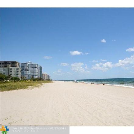 Rent this 2 bed condo on S Ocean Blvd in Pompano Beach, FL
