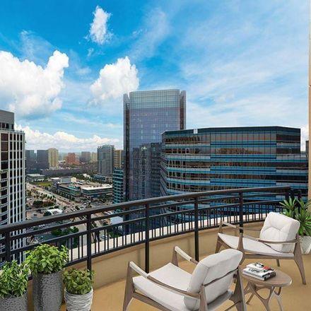 Rent this 2 bed condo on Camden Post Oak in 1200 Post Oak Boulevard, Houston