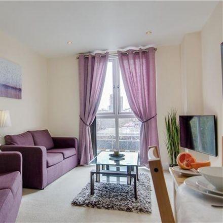 Rent this 1 bed apartment on Jury's Inn Hotel in Berkley Street, Birmingham B1