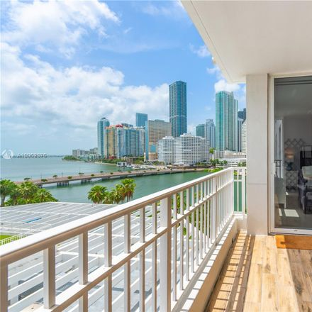 Rent this 2 bed condo on Courvoisier Courts in 701 Brickell Key Boulevard, Miami