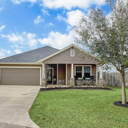 Rent this 3 bed house on 312 Regal Court in Bellville, TX 77418
