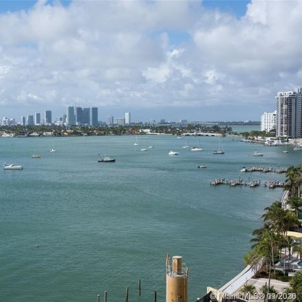 Rent this 1 bed apartment on Bay Garden Manor in 1250 West Avenue, Miami Beach