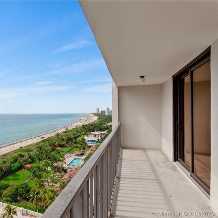 Rent this 1 bed condo on 2625 Collins Avenue in Miami Beach, FL 33140