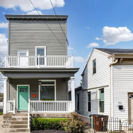 Rent this 2 bed house on 937 Philadelphia Street in Covington, KY 41011