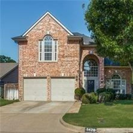 Rent this 4 bed house on 5420 Cold Springs Drive in Arlington, TX 76017