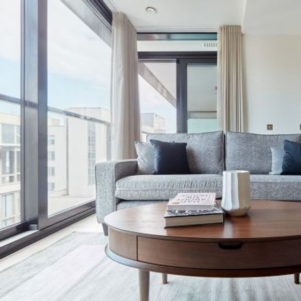Rent this 2 bed apartment on Hanover Studios in 12 Hanover Quay, South Dock ED