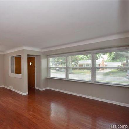 Rent this 3 bed house on 1673 Hazel Street in Birmingham, MI 48009