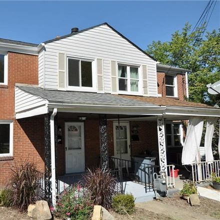 Rent this 3 bed house on McCaslin Street in Pittsburgh, PA 15207