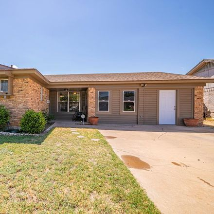 Rent this 3 bed house on 106 South Dewberry Drive in Midland, TX 79703