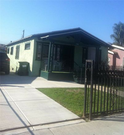 Rent this 2 bed house on 1152 East 80th Street in Los Angeles, CA 90001