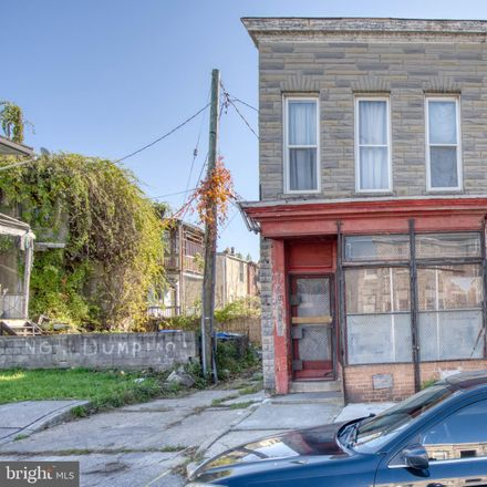 Rent this 3 bed townhouse on 1901 Riggs Avenue in Baltimore, MD 21217