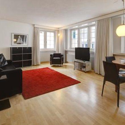Rent this 1 bed apartment on Zurich in Altstadt, ZURICH