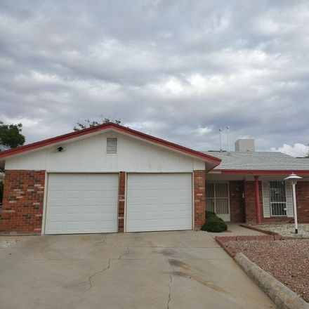 Rent this 3 bed apartment on 10717 Sombra Verde Drive in El Paso, TX 79935