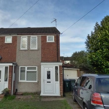 Rent this 2 bed house on Repton Drive in Coventry CV6 7BS, United Kingdom