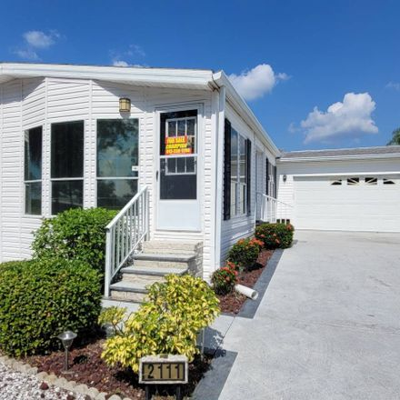 Rent this 2 bed house on 2111 Sawgrass Ln in Ruskin, FL