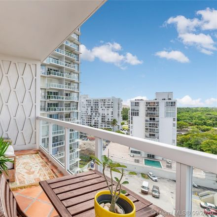 Rent this 1 bed condo on Brickell Town House in 2451 Brickell Avenue, Miami