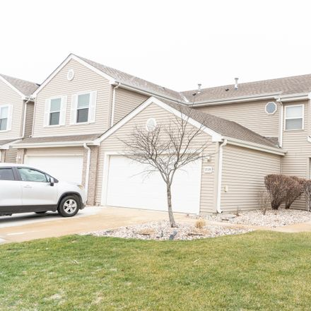 Rent this 2 bed townhouse on Faraday Road in Manhattan, IL 60442