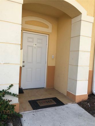 Rent this 4 bed townhouse on NW 177th St in Hialeah, FL