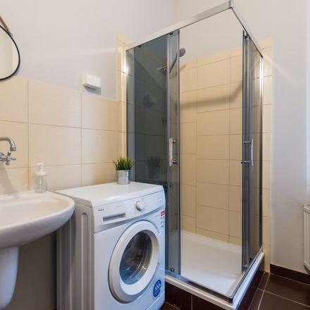 Rent this 7 bed room on Seweryna Mielżyńskiego 19 in 61-725 Poznań, Poland
