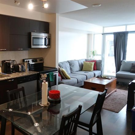 Rent this 1 bed room on Bridge Condominium in 38 Joe Shuster Way, Toronto