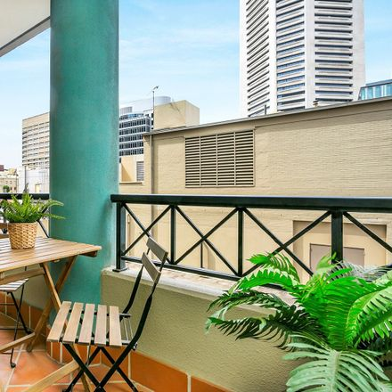 Rent this 1 bed apartment on 1803/1-5 Hosking Place Hosking Place