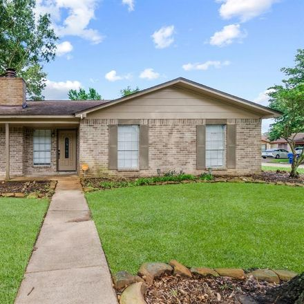 Rent this 4 bed house on 17602 Ten Curves Circle in Harris County, TX 77379