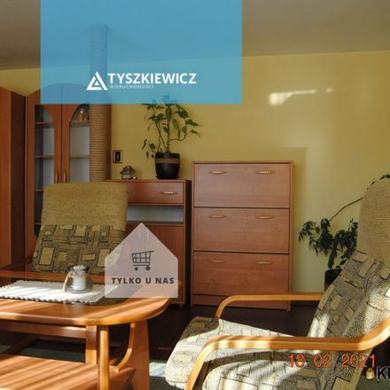 Rent this 1 bed apartment on Niegowska 2 in 80-003 Gdansk, Poland