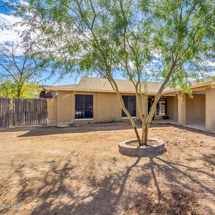 Rent this 3 bed house on 1137 East Hampton Circle in Mesa, AZ 85204