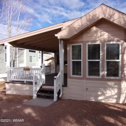 Rent this 1 bed apartment on Old Crook's Trail in Overgaard, AZ 85933