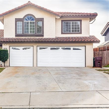 Rent this 4 bed house on 22883 Tea Rose Lane in Moreno Valley, CA 92557